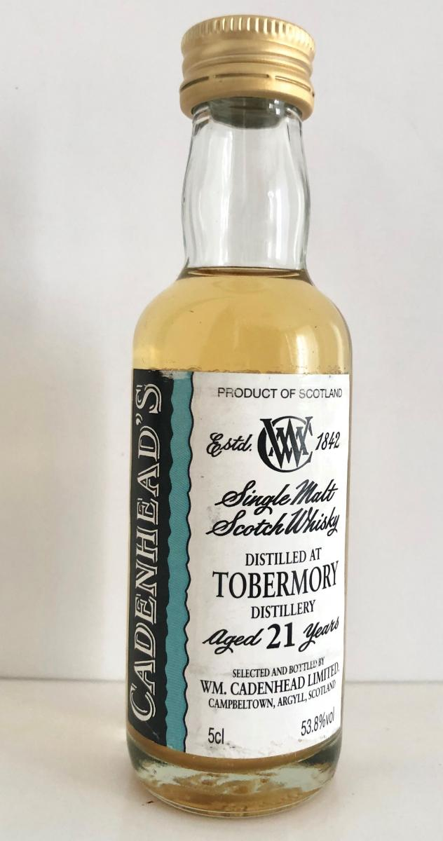 Tobermory 21-year-old CA