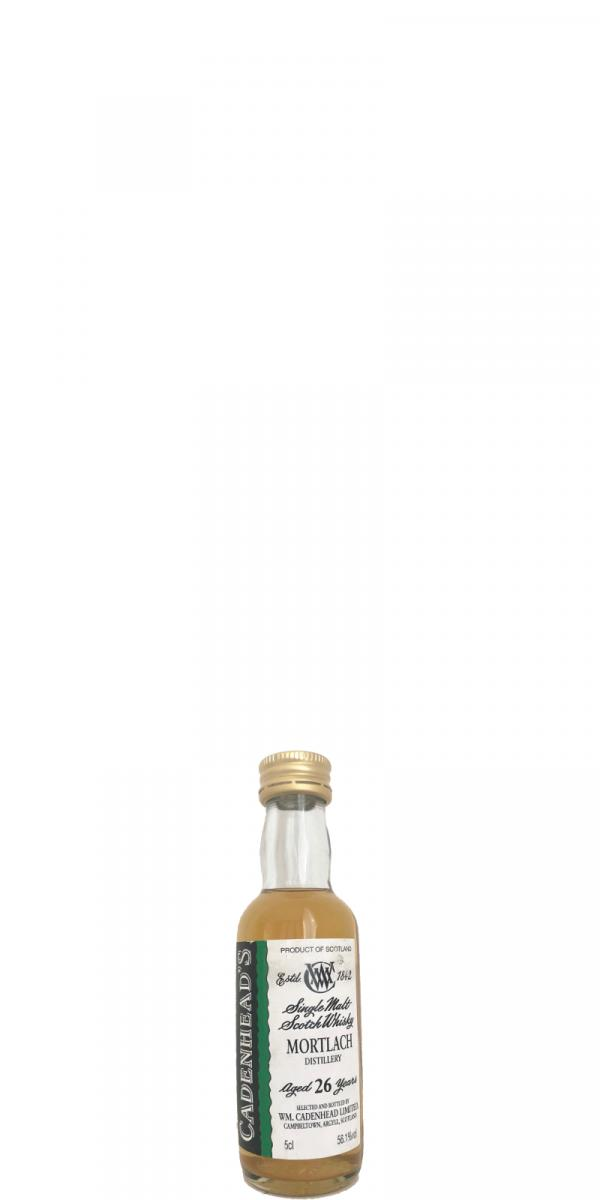 Mortlach 26-year-old CA