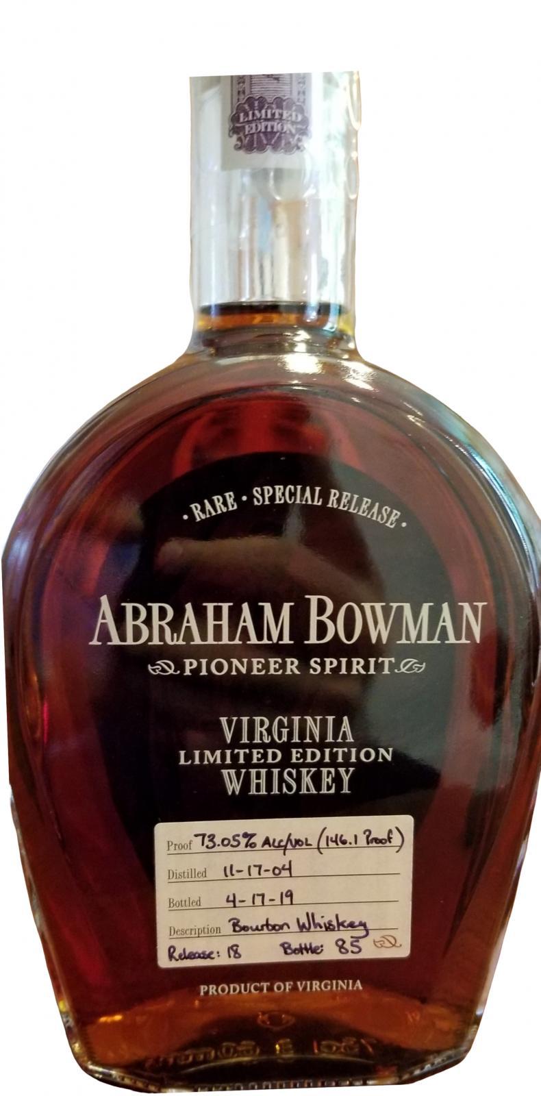 Abraham Bowman 2004