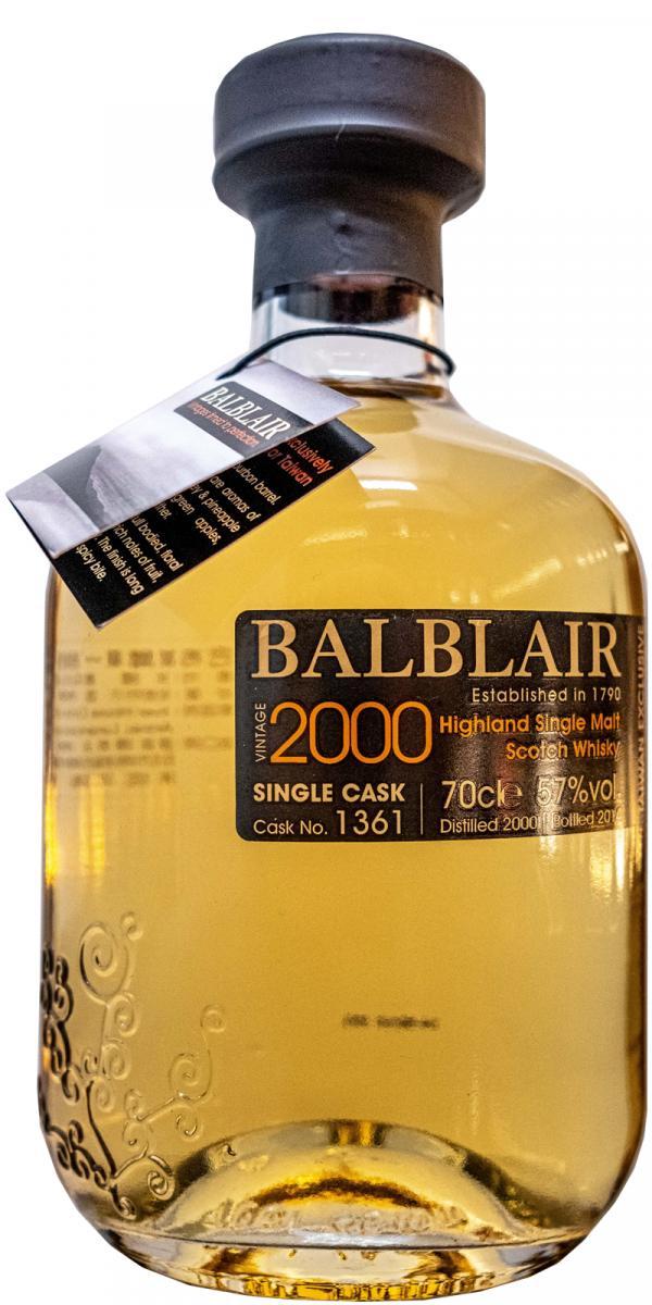 Balblair 2000