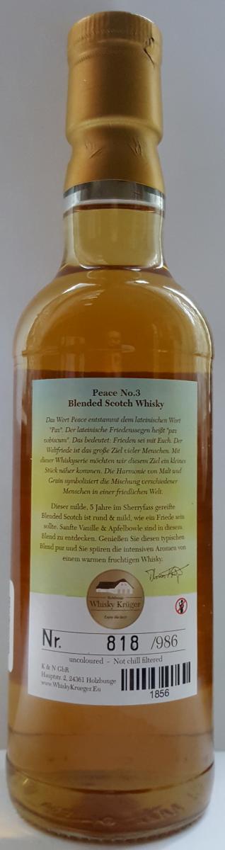 Blended Scotch Whisky 2012