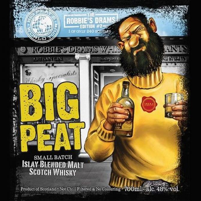 Big Peat The Robbie's Drams edition #2