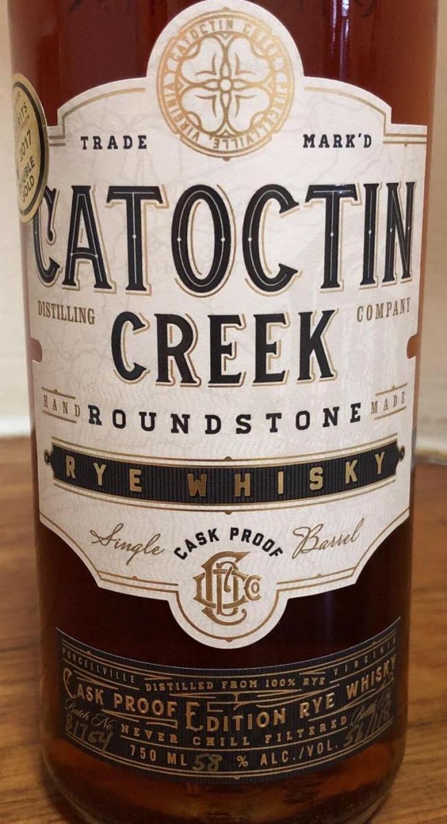 Catoctin Creek Cask Proof Edition