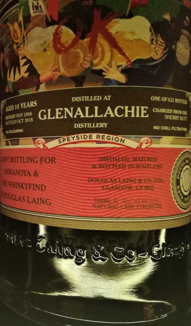 Glenallachie 2008 DL