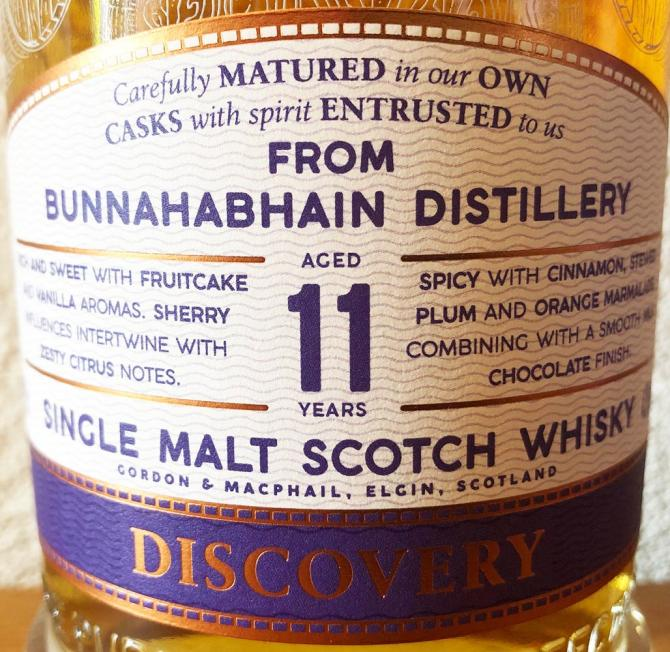 Bunnahabhain 11-year-old GM