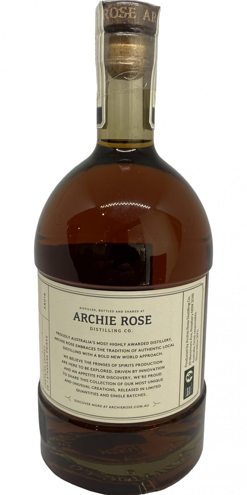 Archie Rose Chocolate Rye Malt Whisky