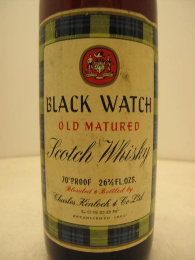 Black Watch Old Matured Scotch Whisky