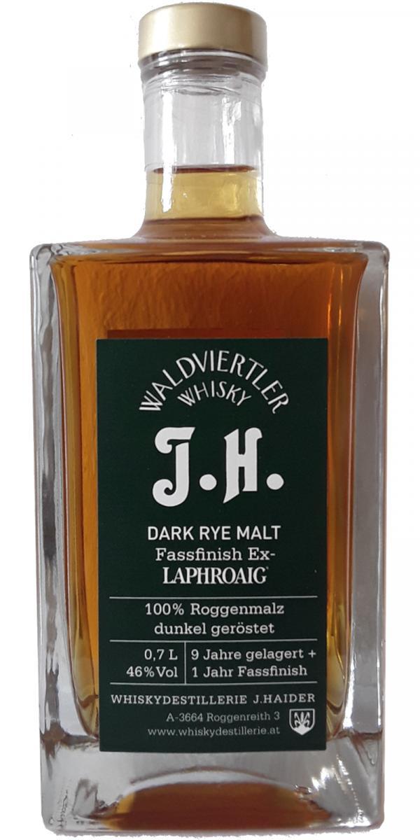 Waldviertler Whisky J.H. Dark Rye Malt