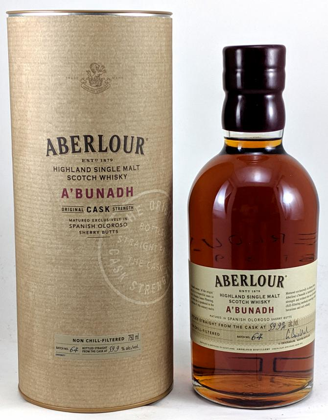 Aberlour A'bunadh batch #64