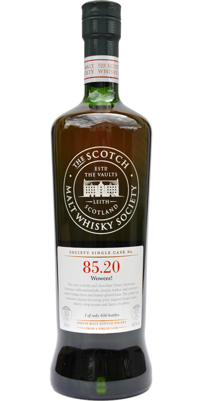 Glen Elgin 1999 SMWS 85.20