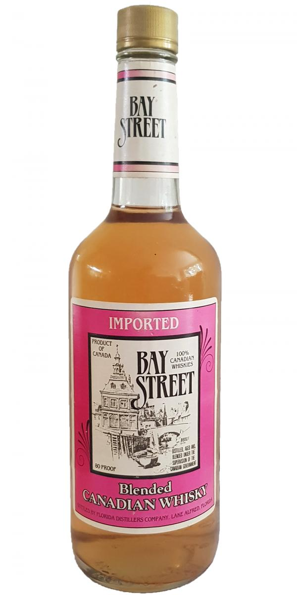 Bay Street Spirits Blended Canadian Whisky