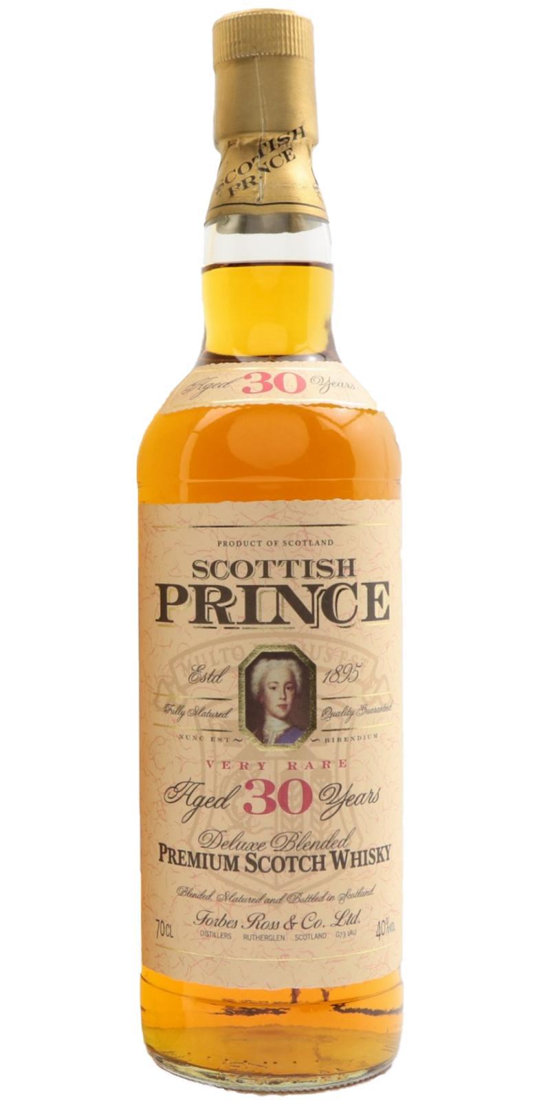 Scottish Prince 30-year-old