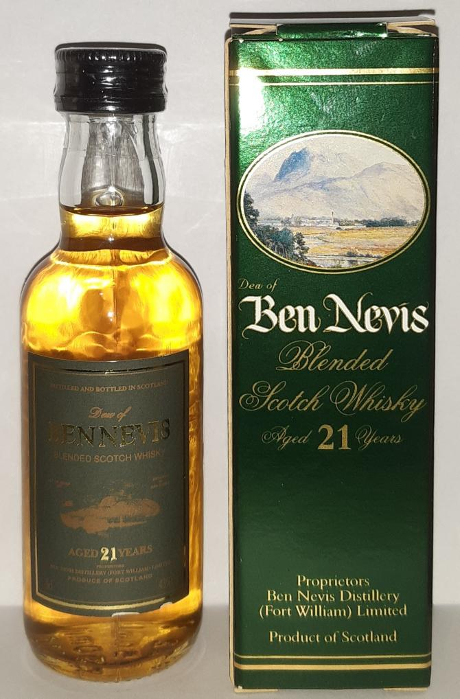 Dew of Ben Nevis 21-year-old