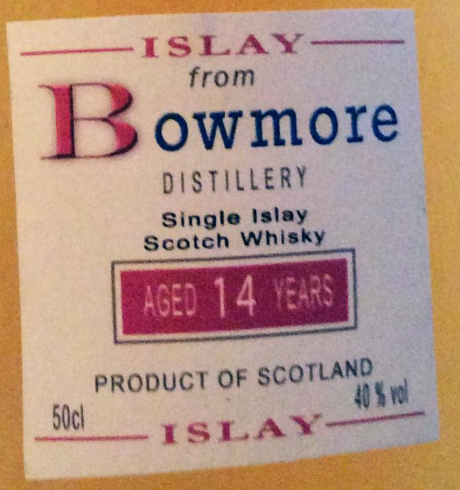 Bowmore 14-year-old