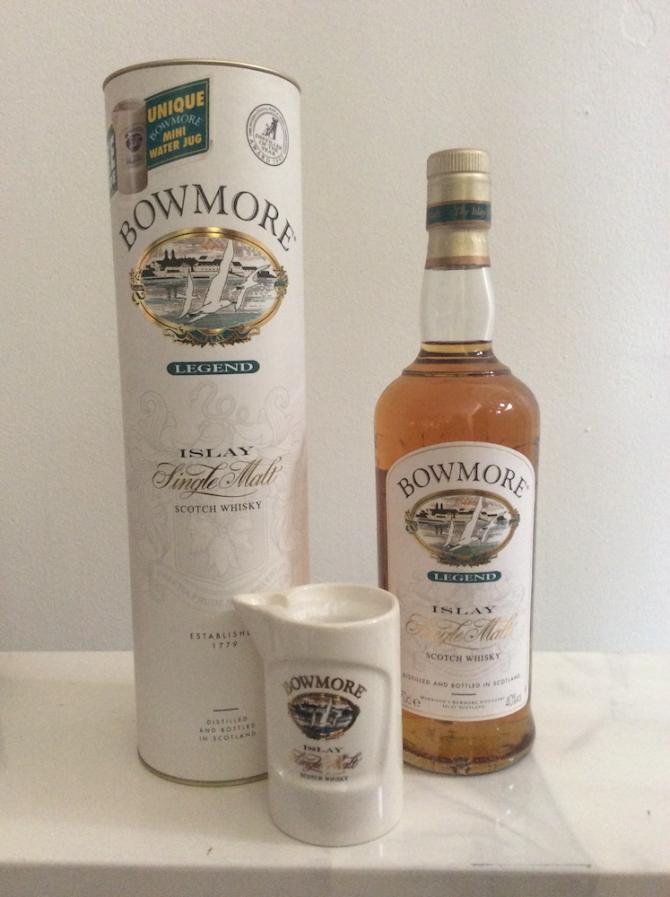 Bowmore Legend with free mini water jug