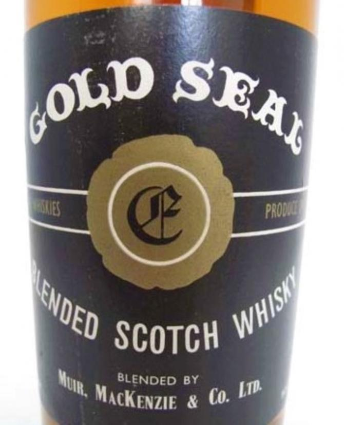 Blended Scotch Whisky Gold Seal