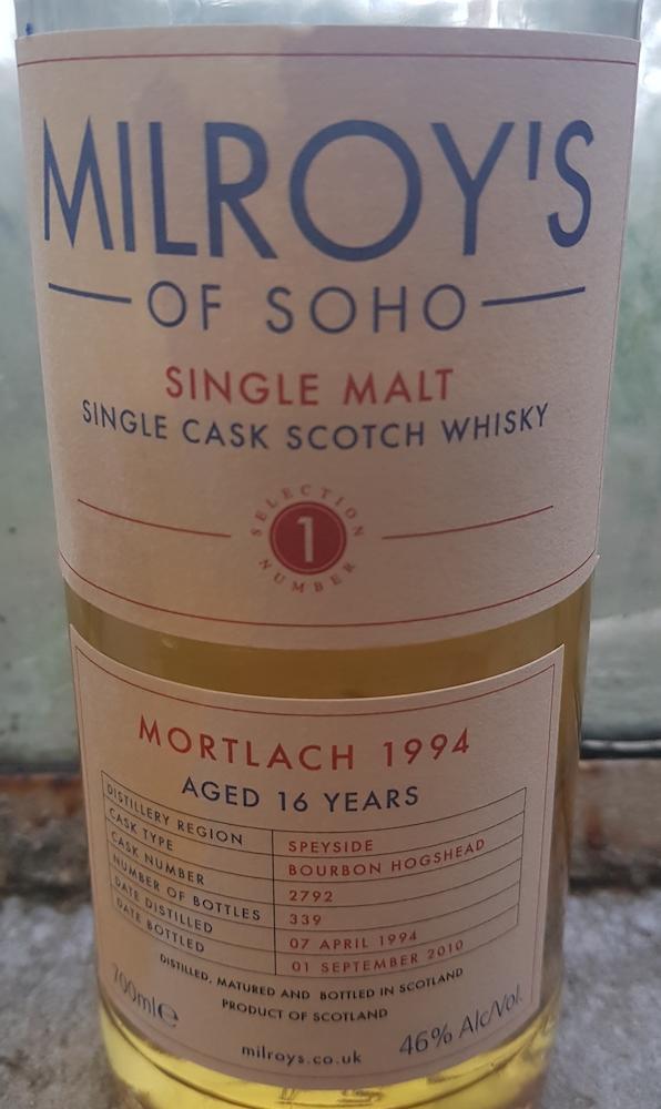 Mortlach 1994 Soh
