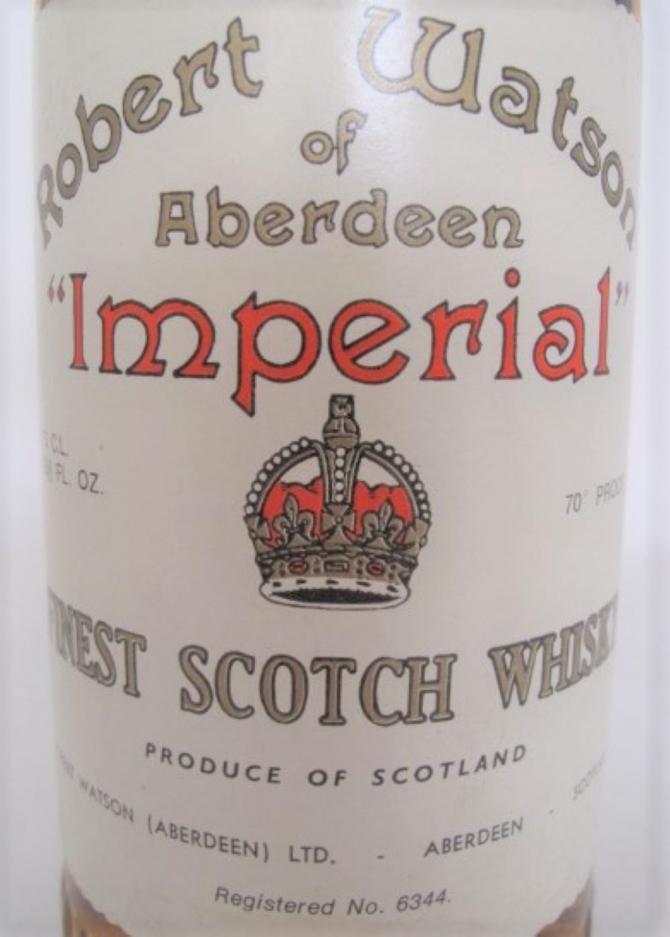 Imperial Robert Watson of Aberdeen