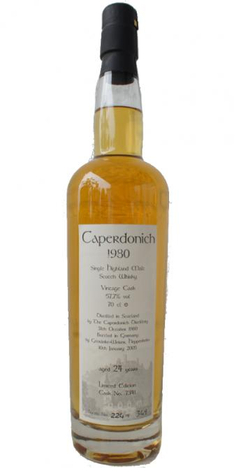 Caperdonich 1980 GW - Ratings and reviews - Whiskybase