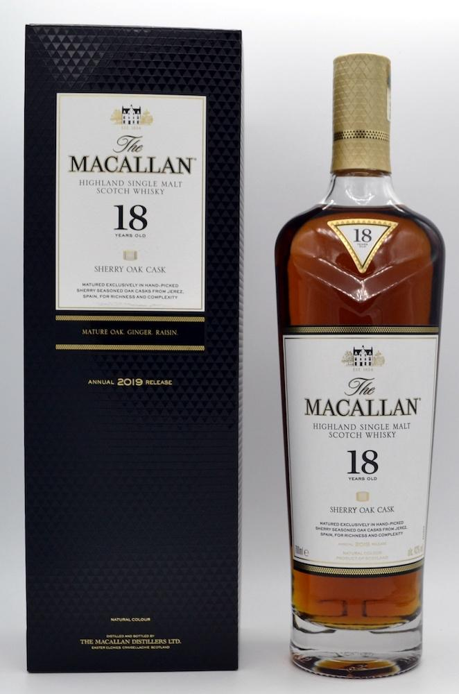 Macallan 18-year-old