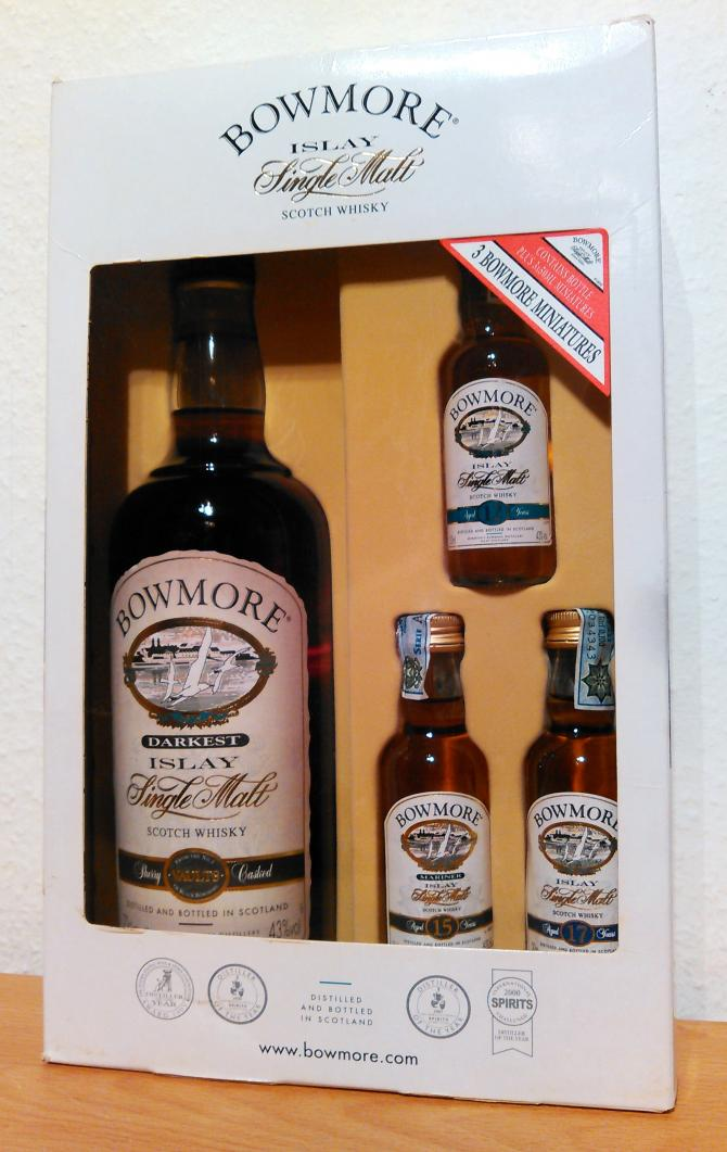 Bowmore Darkest - Gift set