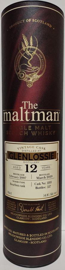 Glenlossie 2007 MBl