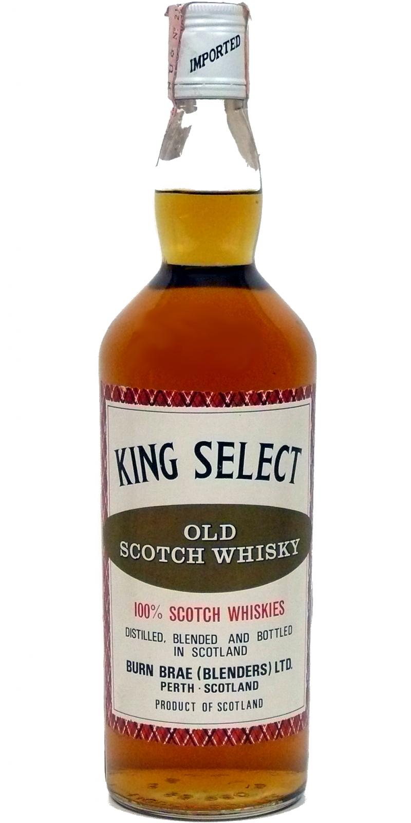 King Select Old Scotch Whisky