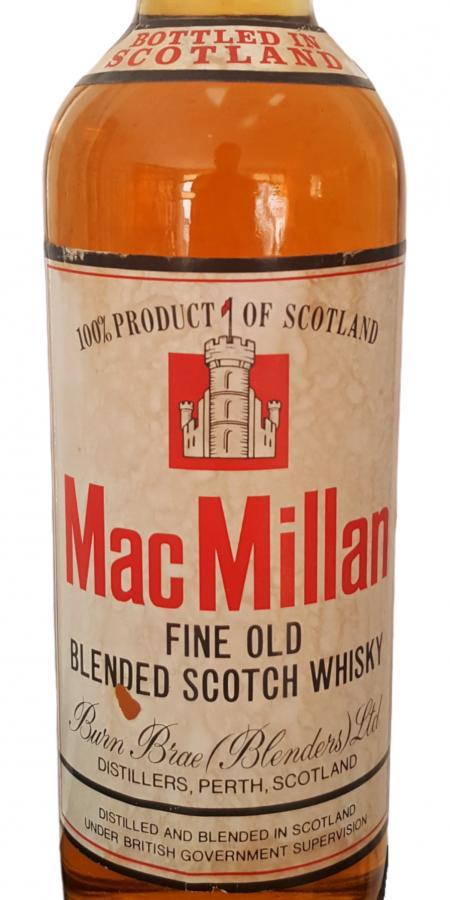 MacMillan Fine Old Blended Scotch Whisky