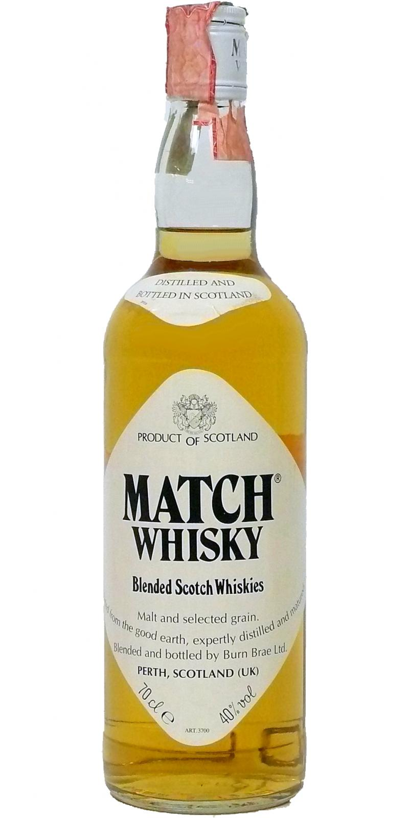 Match Whisky Blended Scotch Whiskies