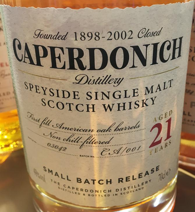 Caperdonich 21-year-old Chvs