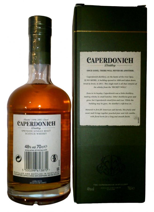 Caperdonich 21-year-old