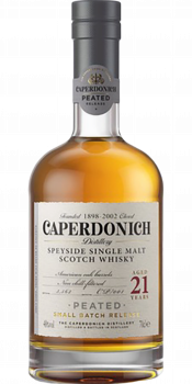 Caperdonich 21-year-old - Peated