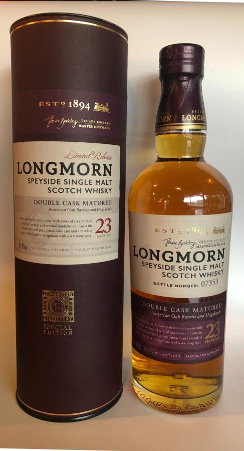 Longmorn 23-year-old