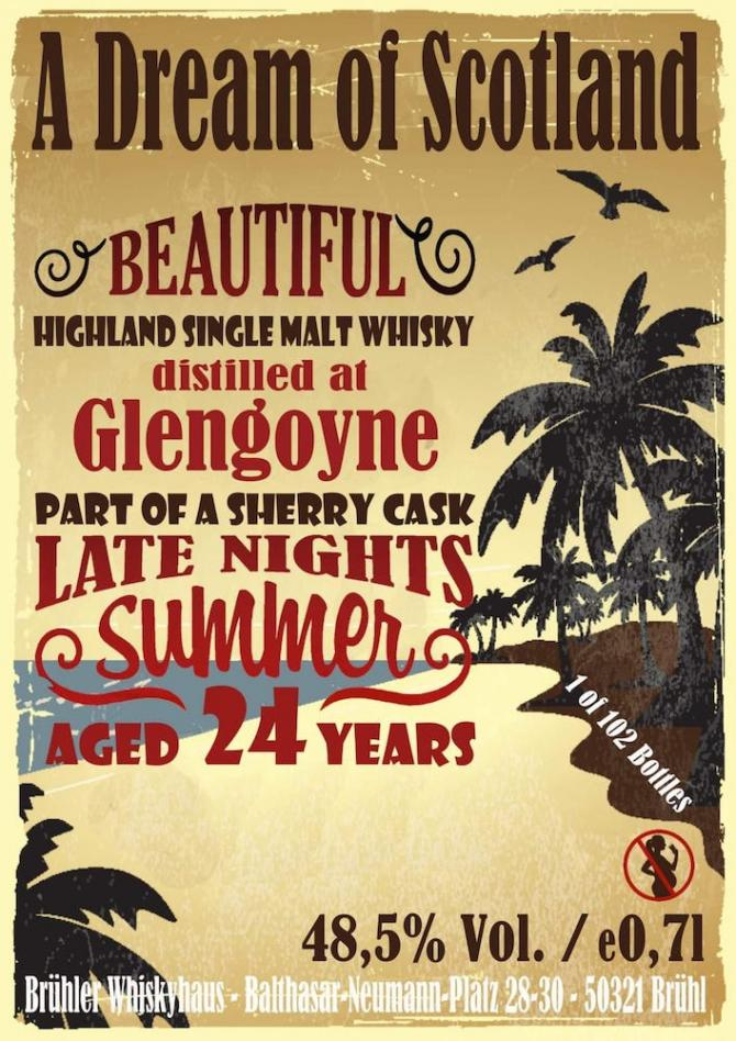 Glengoyne 24-year-old BW