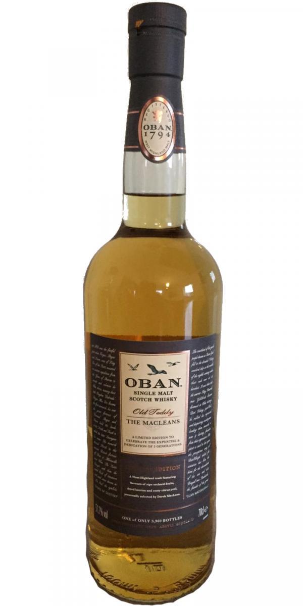 Oban Old Teddy