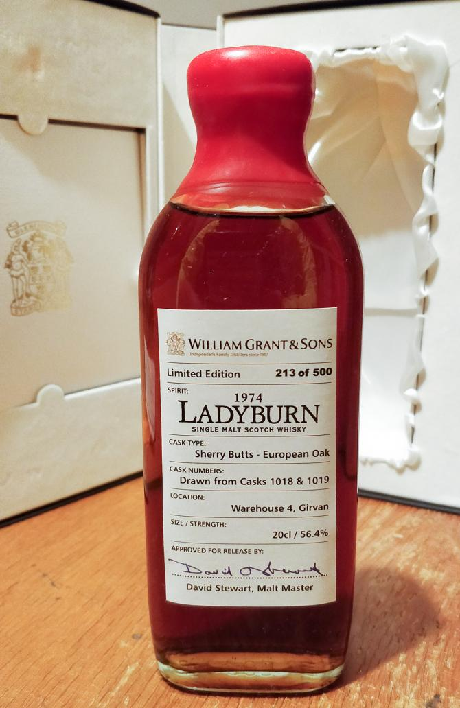 Ladyburn 1974 William Grants & Sons