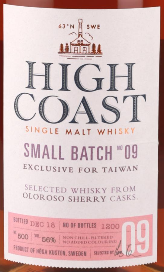 High Coast Small Batch No 09