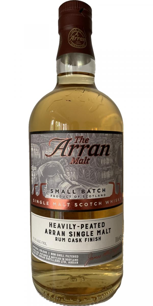 Arran Heavily-Peated - Rum Cask Finish