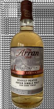 Arran Heavily-Peated - Rum Cask Finish