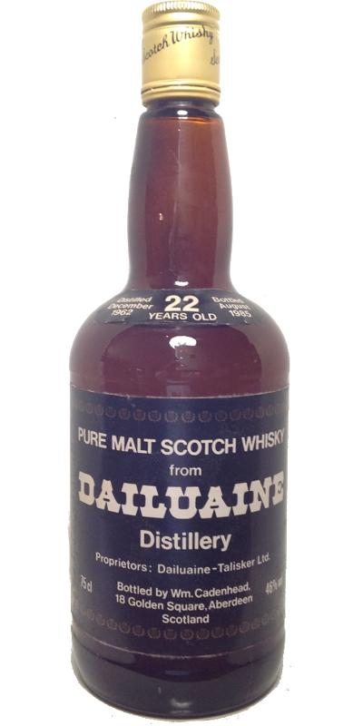 Dailuaine 1962 CA
