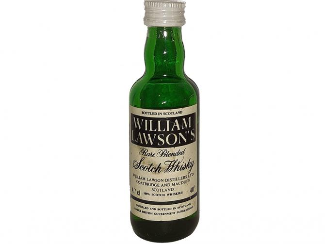 William Lawson's Rare Blended Scotch Whisky