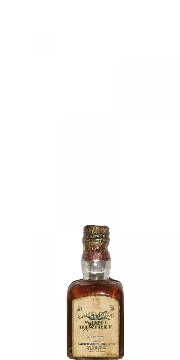 Campbell's White Heather  Scotch Whisky De Luxe