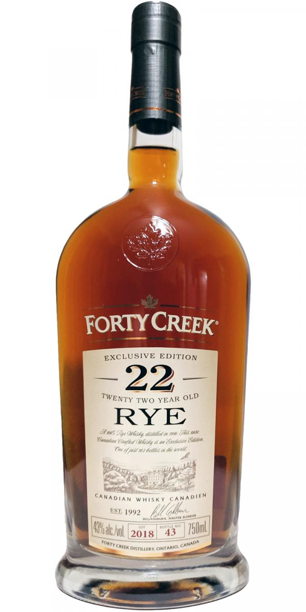 Forty Creek 1996 - Rye