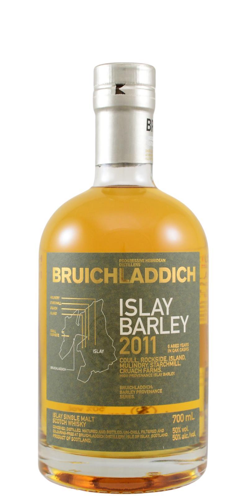 Bruichladdich 2011