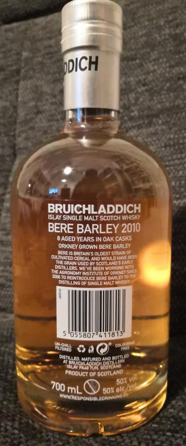 Bruichladdich 2010