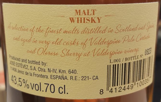 Blended Malt Valdespino Malt Whisky
