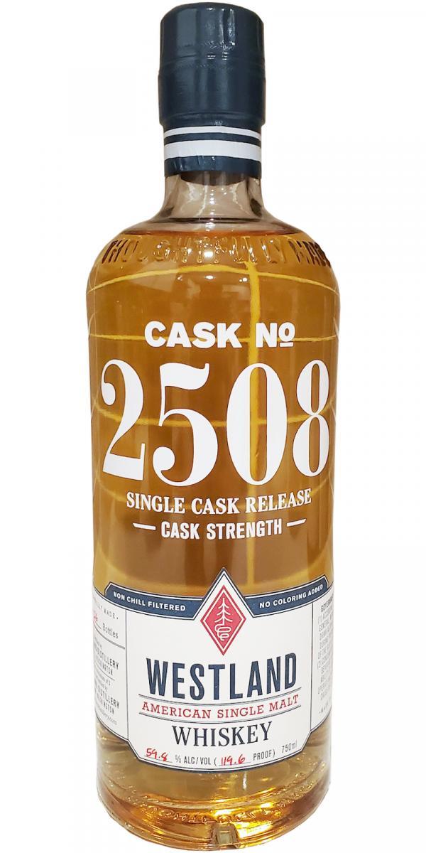Westland Cask No. 2508 - Pilsen