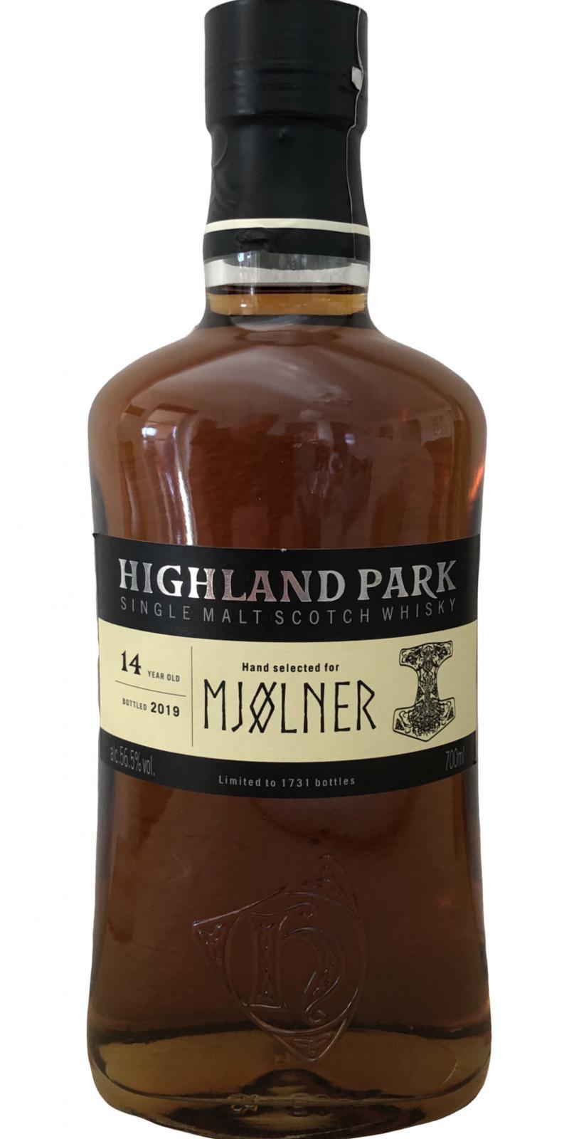 Highland Park 14-year-old - Mjølner