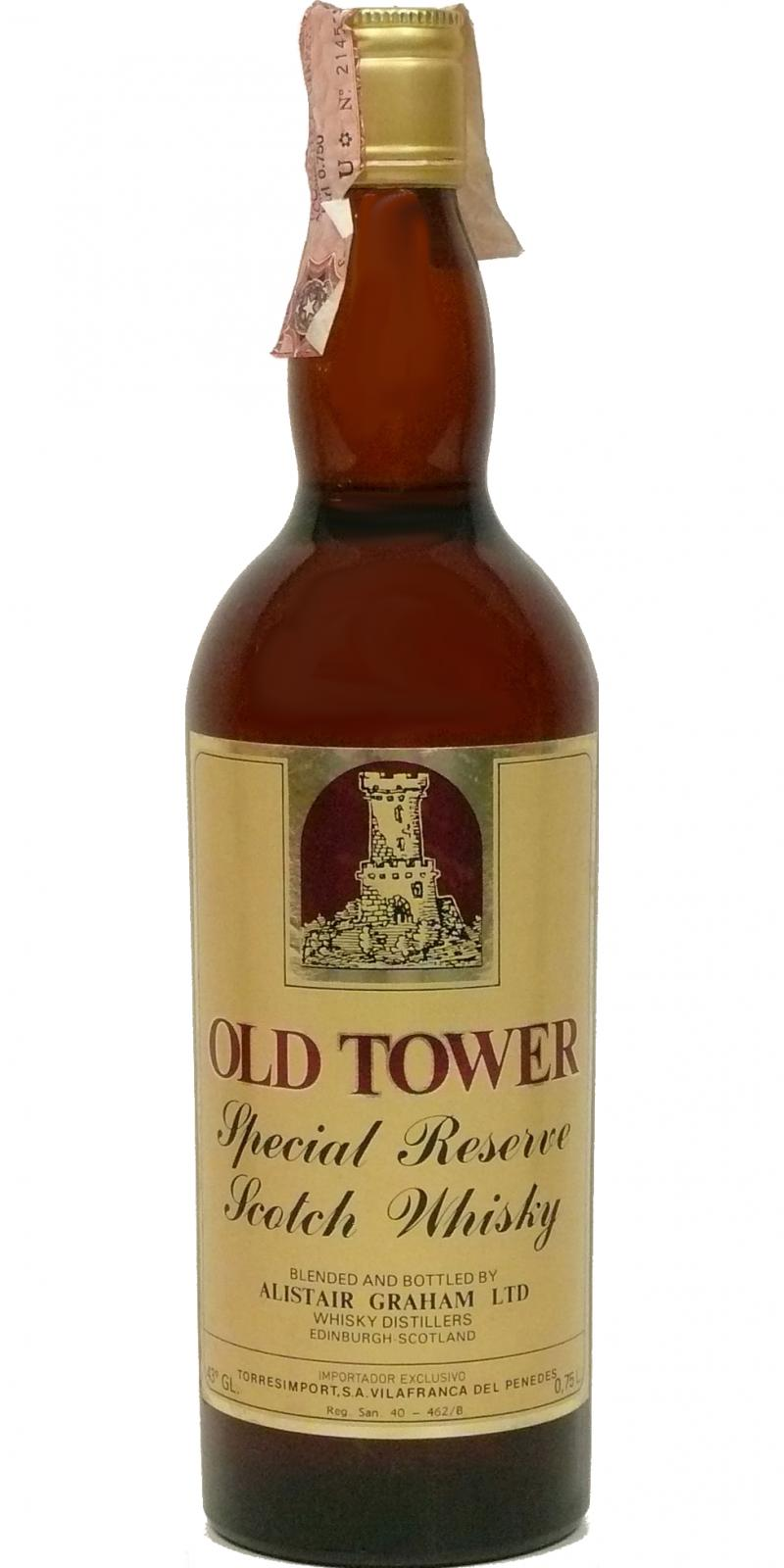 Old Tower Special Reserve Scotch Whisky