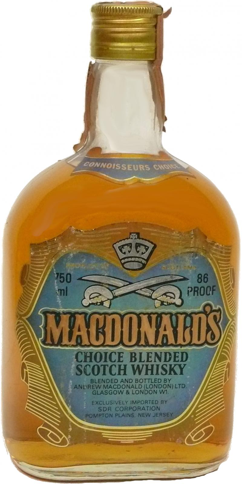 MacDonald's Choice Blended Scotch Whisky